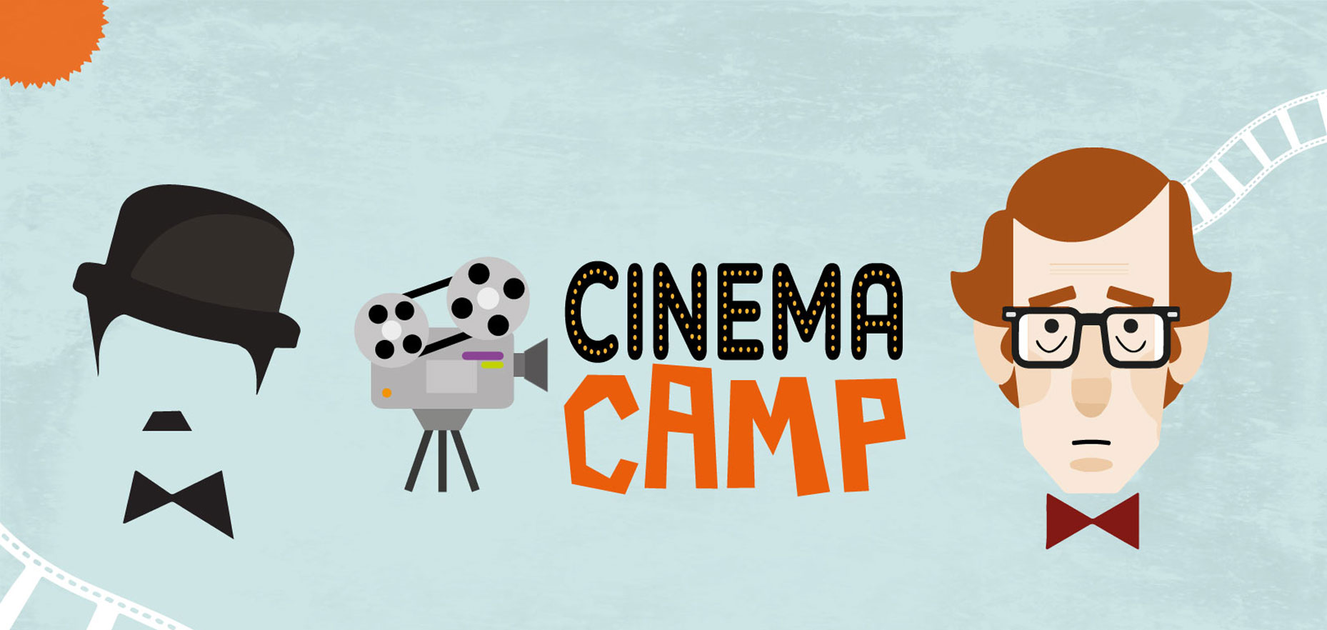 banner de cinema camp