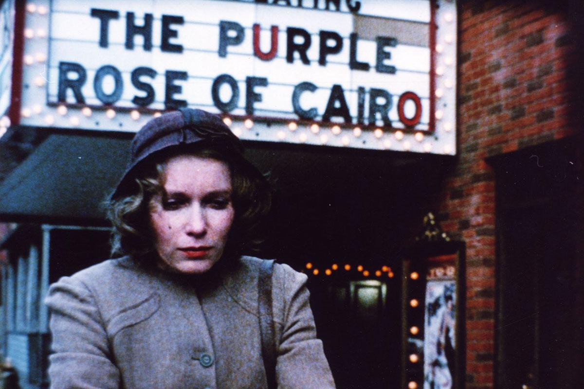 Fotograma de La Rosa Purpura del Cairo sorteamos 3 películas