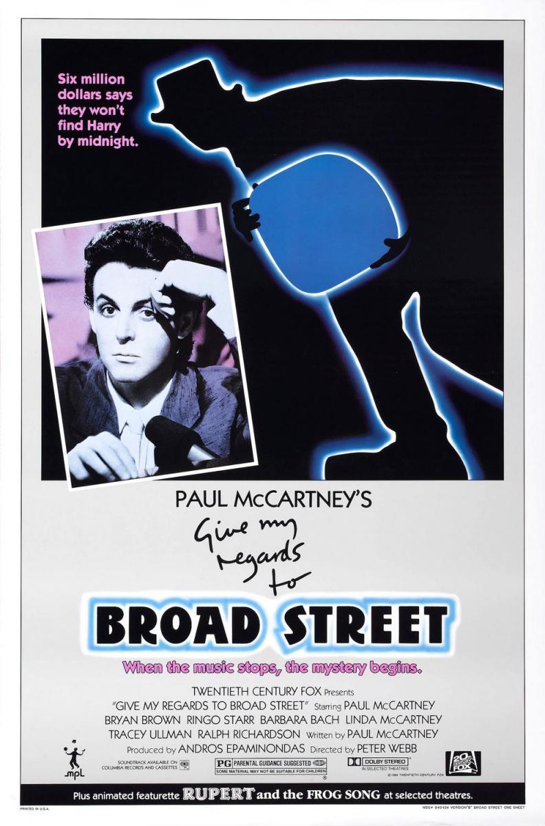 Poster Recuerdos a Broad Street
